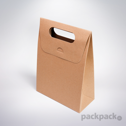 c5ce747e8 10ks v balení. Darčeková taška 150x70x210 hnedá